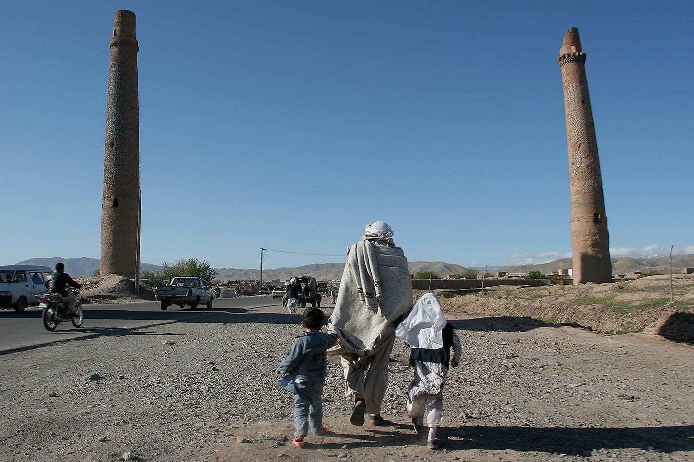 Herat, Afghanistan, alte Moschee