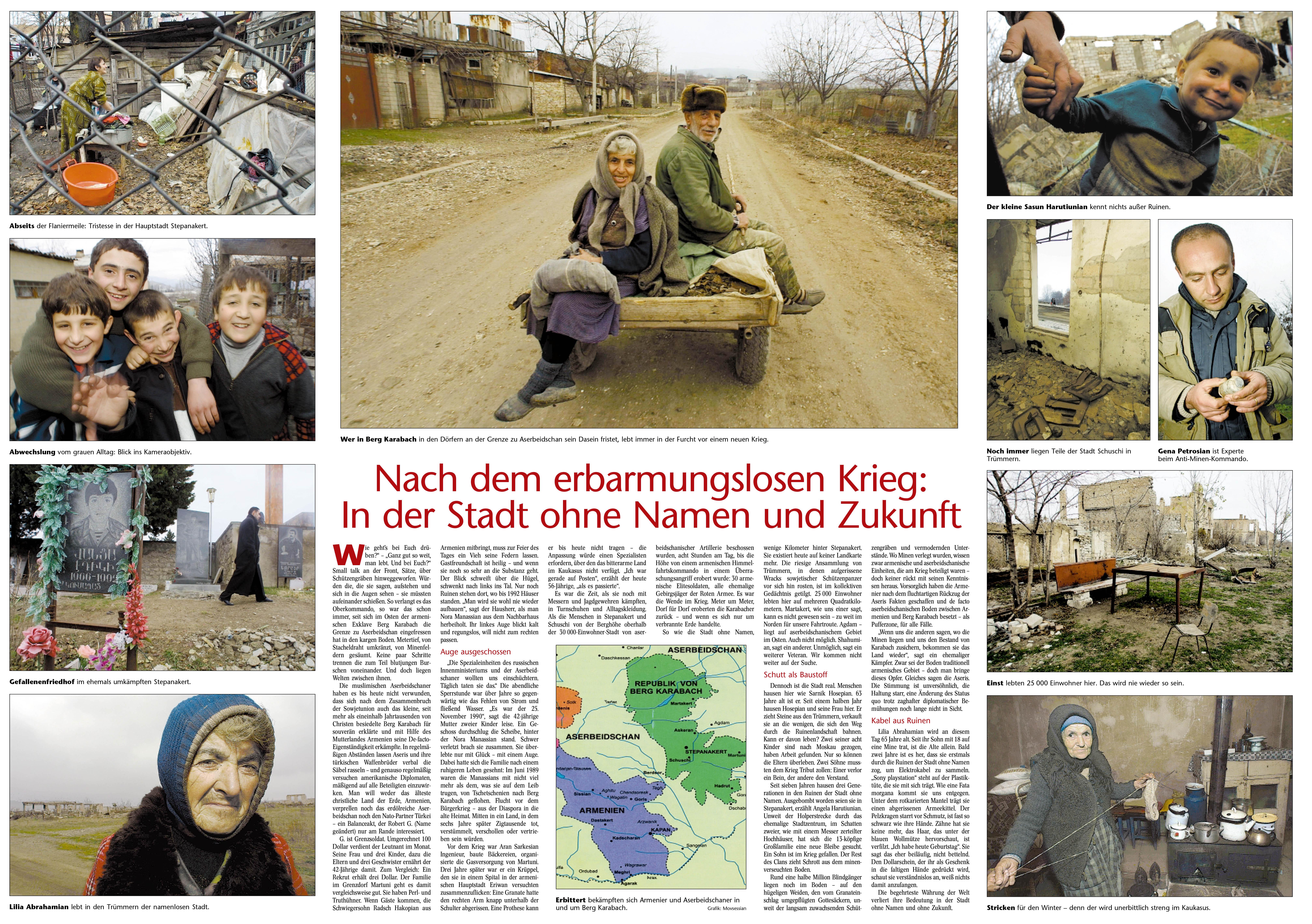 Berichterstattung Berg-Karabach