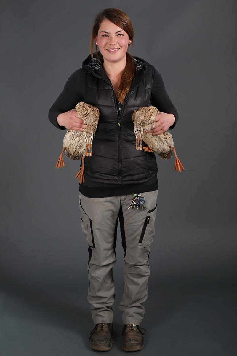 Maja Rosenberg, Tierpflegerin