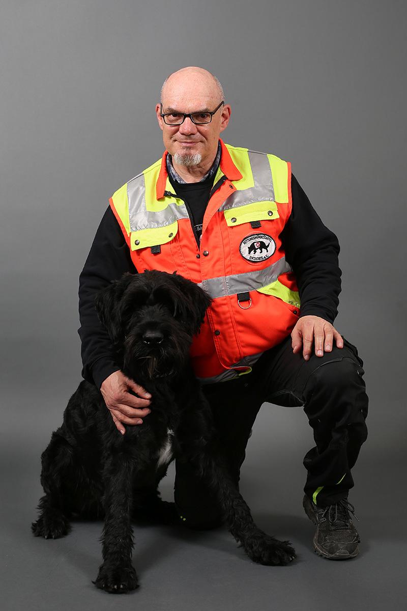 Aike Kremser, Rettungshundeausbilder