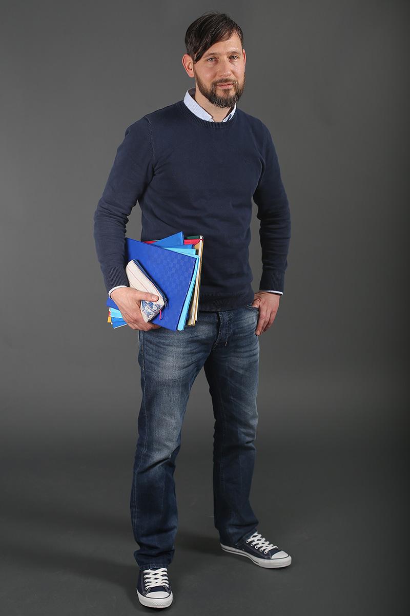 Matthias Heller, Hauptschullehrer