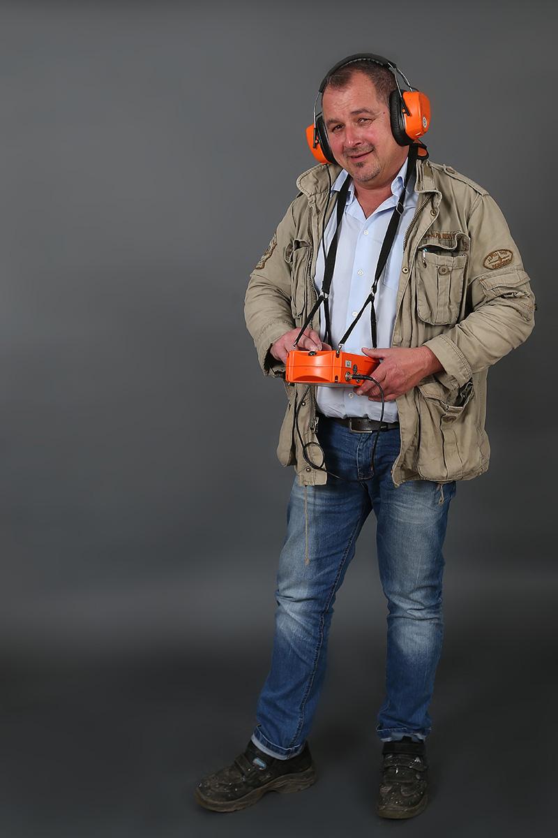Helmut Gorziza, Vorarbeiter Stadtwerke