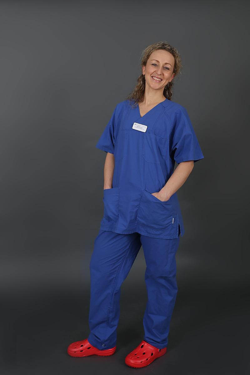 Angelika Lazuk, Krankenschwester