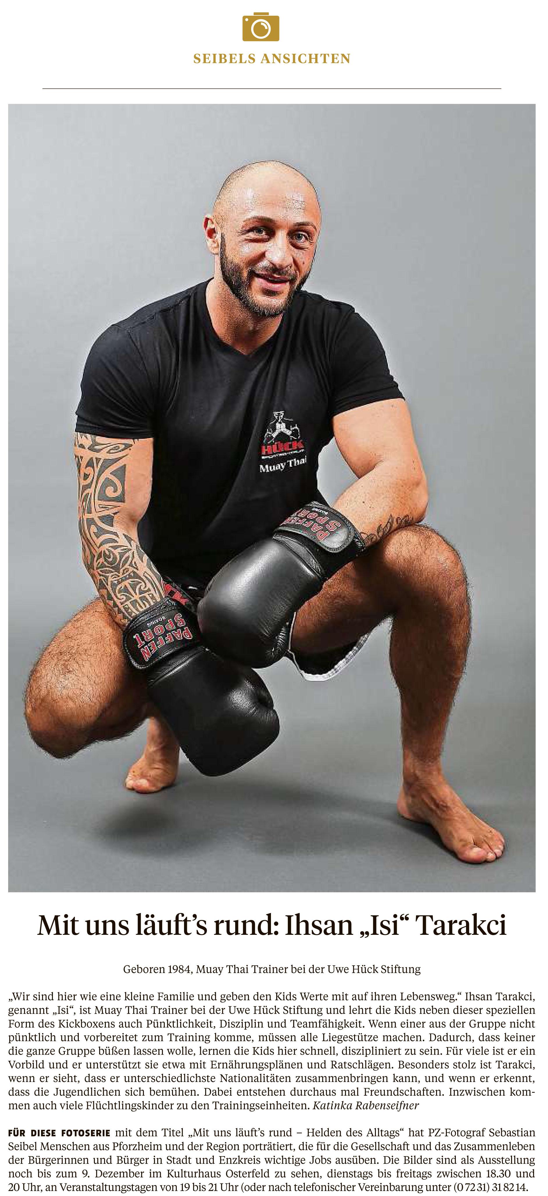Ihsan Tarakci, Boxtrainer