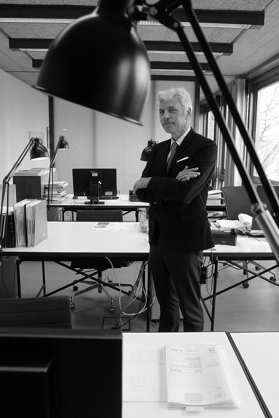 Peter W. Schmidt, Architekt